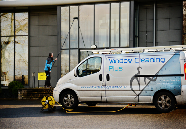 Reach and Wash window cleaning office in Carlisle image